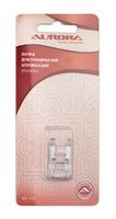 Лапка для швейной машины, для декоративных строчек (для пришива аппликаций).Арт.AU-110