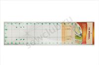 Линейка для пэчворка  60см.х 15см.Арт.AU-6015