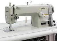 Прямострочная швейная машина челночного стежка с игольным продвижением Protex TY-В721-3А