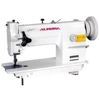 Двухигольная промышленная швейная машина для тяжелых материалов Aurora A-878