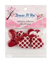 Набор  декоративных пуговиц Dress It Up. Арт.3510