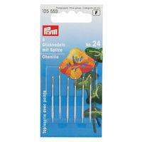 Prym 125553 Иглы для вышивки со скругленным остриём №24, 6 шт .