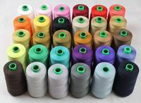 Нить LuxStyle полиэстер № 50/2 ;5000 метров, цветные