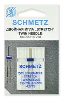 ИГЛЫ   Schmetz стретч двойные № 75/4.0, 1 ШТ.