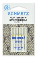 ИГЛЫ Schmetz стретч № 75, 5 ШТ.