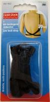 Prym 991962 Удлинитель застёжки бюстгальтера для одежды с открытой спиной (черный).