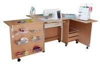Стол для швейной машины и оверлока Комфорт 5L ( до 15 кг )