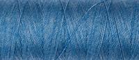 Нитки AURORA для штопки джинсов№80С, 150м.(голубой).Арт.AU-4028