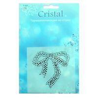 18402 Термоаппликация из страз,Cristal