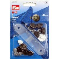 Кнопки Джинсовые,17 мм (дизайн звезда)