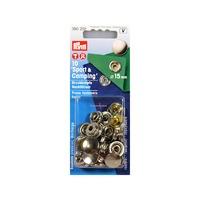 Дополнительный набор кнопок Спорт@Кэмпинг, 15 мм.( 10 шт.)Цвет:серебро.
