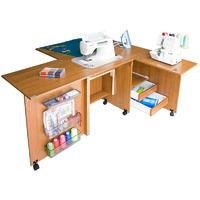 Стол для швейной машины и оверлока Комфорт-5 (до 10 кг )