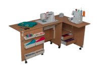 Стол для швейной машины и оверлока Комфорт 5L+ ( до 20 кг )