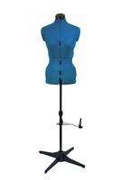 Манекен портновский раздвижной Tailormade «A» (42-52), Sapphire Blue