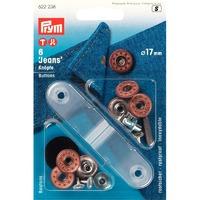 Кнопки Джинсовые с отверстием,17 мм.