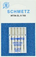 Иглы  Schmetz для плоскошовных машин ELX705 90, 5 ШТ.