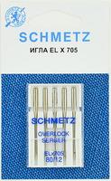 ИГЛЫ  Schmetz для плоскошовных машин ELX705 № 80, 5 ШТ