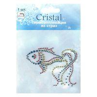 ADS050 Термоаппликация из страз Cristal