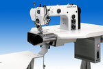 Оборудованное рабочее место для прокладывания строчки по поясу юбок и брюк 550-5-5-2 Beisler