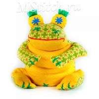 """Набор для создания текстильной игрушки """"Лягушенок Ква"""""""