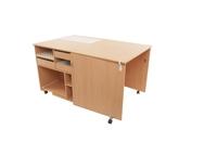 Стол для швейной машины и оверлока Комфорт 1QB (К1QBL/К1QBXL)