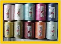 Нитки LuxStyle №40/2 , 1000 ярдов , цветные