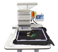 Вышивальная промышленная одноголовочная 15-ти игольная машина Velles VE 21C-TS (Touch Screen)