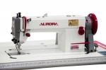 Прямострочная промышленная швейная машина с шагающей лапкой AURORA A-0302Е-CX-L