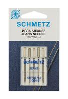 Иглы Schmetz  для джинсы №100 , 5 ШТ