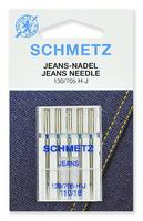 Иглы  Schmetz для джинсы № 110, 5 ШТ