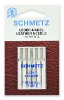 Иглы  Schmetz для кожи LL № 110, 5 шт.