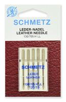 Иглы  Schmetz для кожи LL № 120, 5 шт.