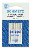 Иглы Schmetz универсальные № 65, 5 шт.