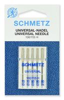 Иглы   Schmetz универсальные № 70(2),80(2),90, 5 шт.