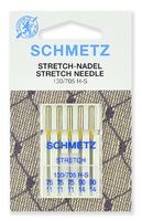 Иглы  Schmetz стретч №75(3) №90(2) , 5 шт.