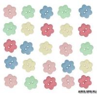 5933, Декоративные пуговицы. Цветок Dress It
