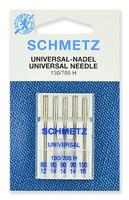 Иглы  Schmetz универсальные № 80,90(3),100, 5 шт.