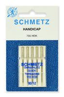 Иглы  Schmetz легковдеваемые №80, 5 шт.