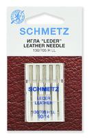 Иглы  Schmetz для кожи LL № 90, 5 шт.