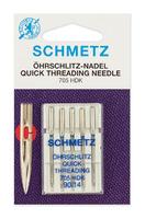 Иглы Schmetz легковдеваемые №90, 5ШТ.