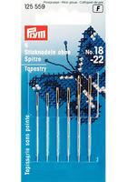 Prym 125559 Иглы для вышивки со скругленным остриём, №18-22, 6 шт.