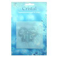 18401 Термоаппликация из страз,Cristal