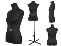 Портновский женский манекен Royal Dress forms CHRISTINA , р-р 42 (бежевый, черный).