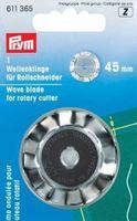"""Prym 611365 Запасное лезвие """"Волны"""", к раскройному ножу 45 мм."""