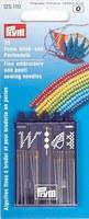 Prym 125110 Набор игл для вышивки и бисероплетения (25 шт.)