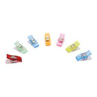 Прищепки для работы с тканями арт.AC051-S 2,5см пластик/металл, 10шт/упак