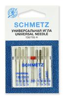 Иглы Schmetz комбинированные № 70,80(2),90;75,90(S);90,100(J);80/2.0, 9 ШТ.