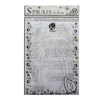 KS-MOSM026 Термоаппликация из страз 'Крылья ангела', 18,5*26см Ki Sign