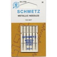 Иглы Schmetz металлизированные 130NM №90 , 5 шт.