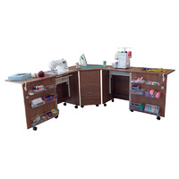 Стол для швейной машины и оверлока Комфорт-6
